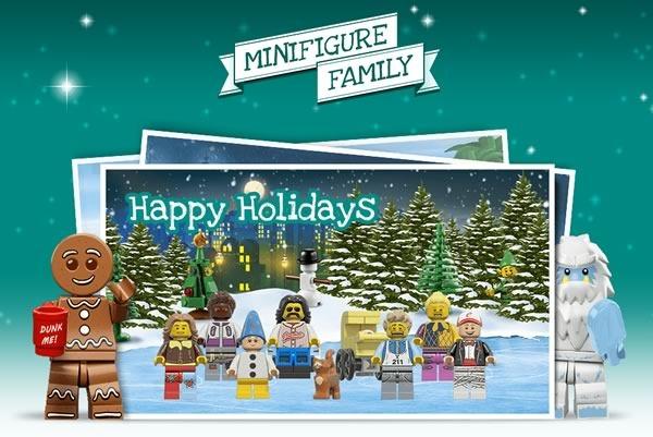 C mo crear una tarjeta navide a de lego for Crear tarjetas de navidad