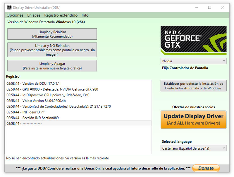 nvidia installer failed 03