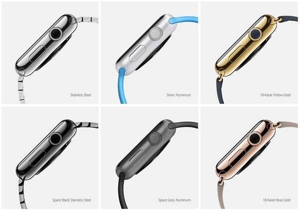 apple watch - acabados
