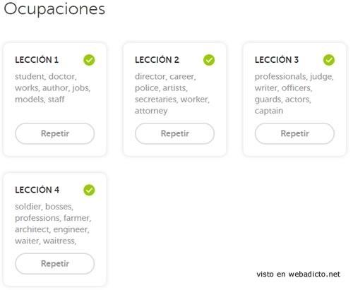 duolingo el mejor curso gratis de idiomas online - lecciones