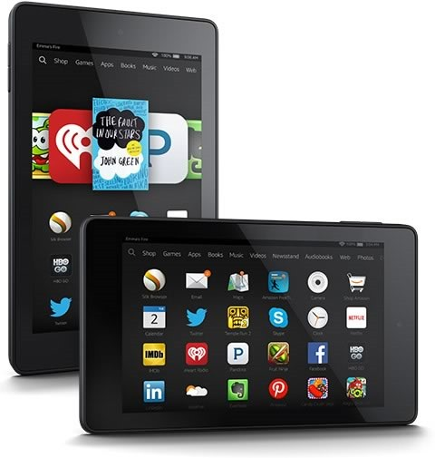 las 10 mejores ofertas tecnologicas cyber monday 2014 en amazon - amazon fire hd 7 tablet