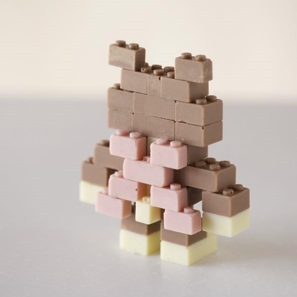 lego chocolate funcionales y comestibles - 06