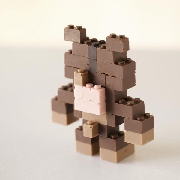 lego chocolate funcionales y comestibles - 07