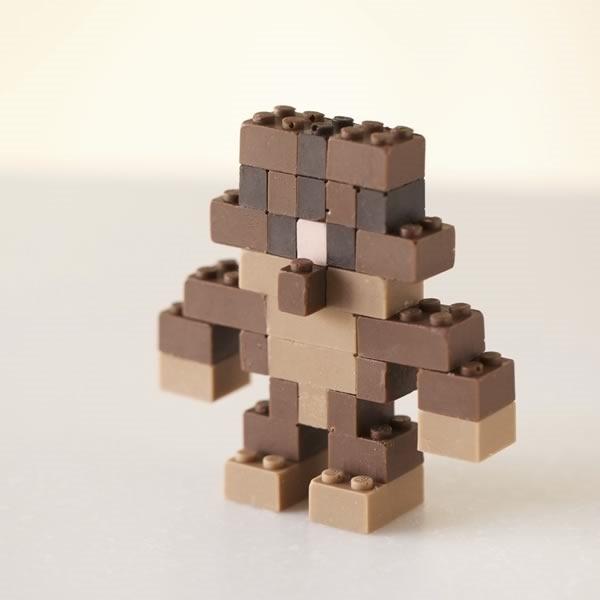 lego chocolate funcionales y comestibles - 09