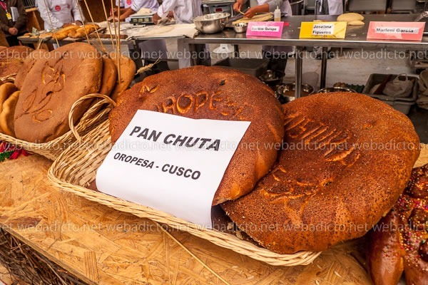 mistura 2015 - pan chuta oropesa cusco