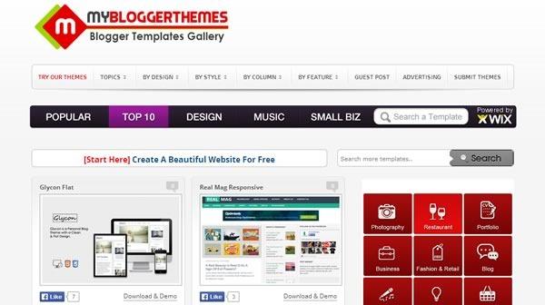 plantillas blogger para descargar gratis - mybloggerthemes