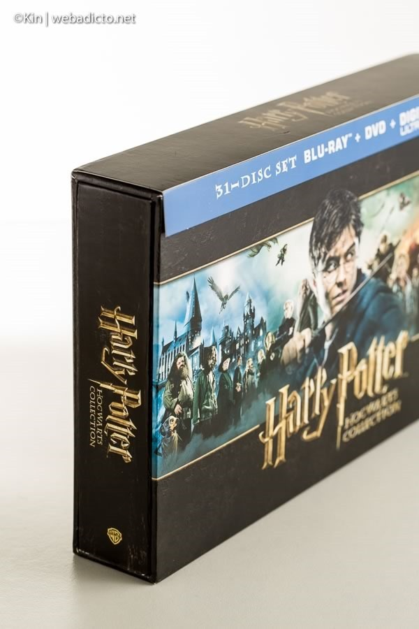 review bluray harry potter hogwarts collection-7465