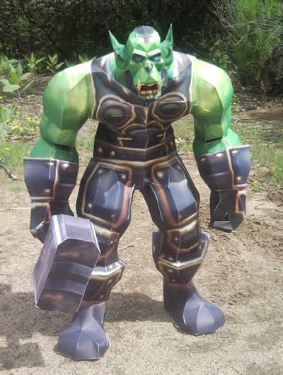 wow-papercraft-thrall