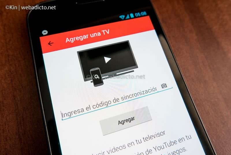 youtube tv controlar desde smartphone tablet pc-1050038